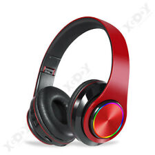 Over Ear Wireless Bluetooth 5.0 Headphones Super Bass Noise Cancelling Headset