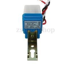 New Photocell Street Light Photoswitch Sensor Auto On Off Switch AC DC 12V 10A