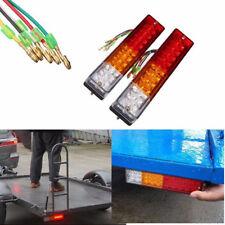 2x LED Stop Rear Reverse Side Light Indicator Lamp Car Truck Trailer Caravan 12V