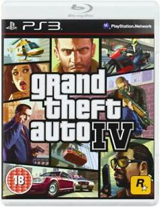 Grand Theft Auto IV PS3 NEW and Sealed FULL UK Version Grand Theft Auto 4 GTA 4