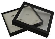 Alta CALIDAD Caja de Madera de 36 Anillo Pantalla Desmontable Tapa Magnética y almohadilla de elección