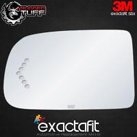 Driver Side Mirror Glass Fit Avalanche Silverado Sierra Yukon Signal Adhesive LH