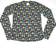 NEW girls HOT CHILLYS Pepper FLEECE print crew XL Mountain Weight shirt top NIB