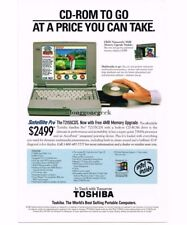 1995 TOSHIBA Satellite T2155CDS Notebook Computer Portable Laptop Vtg Print Ad