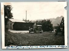 Schweiz, Saint Moritz (Engadin), Garage Hôtel Belvédère   Vintage silver print.