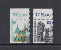 Berlin Mi-Nr. 834-835 gestempelt ESST - Oberrand