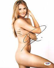 Daniela Hantuchova The Body Issue Tennis Signed Auto 8x10 PHOTO PSA/DNA