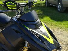 Ski-Doo Rev Black Headlight Covers (Now available in white)