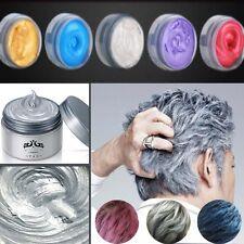 Fashion Light Gray Hair Cream Permanent Easy Temporary DIY Super Dye Color Blue