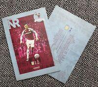 Aston Villa v Tottenham Hotspur Spurs PREMIER LEAGUE Programme 21/3/21 IN STOCK!