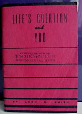 Life's Creation and You, Leon H. Smith, Y's Men's Club, Des Moines, Iowa, 1944