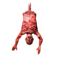 Halloween Prop Severed Skinned Hanging Torso Haunted House Yard Party Decor