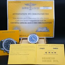 AUTHENTIC MINT BREITLING NAVITIMER GMT BLUE DIAL, A24322 46MM, BR_418814