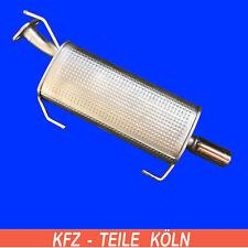 Muffler for Nissan Juke /1.2 Dig-T Exhaust System End Silencer