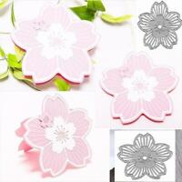 DIYCutting Dies Stencil Scrapbooking Paper Card Embossing Craft Hollow Flow T4S4