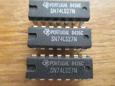 3 circuits intégrés SN74LS27N DIP14 de Texas Instruments