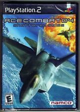 PS2 Ace Combat 04 Shattered Skies ( 2001 ) NTSC U/C, New & Sony Factory Sealed