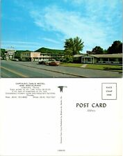 Postcard Captains Table Motel And Restaurant Clearfield Pennsylvania Unposted 1B