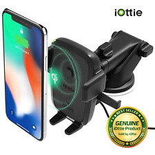 iOttie Easy One Touch Qi Wireless Fast Charge Universal Car Mount for Qi Enabled
