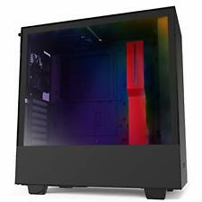 NZXT H510i - Compact ATX Mid-Tower PC Gaming Case - Front I/O USB Type-C Port -
