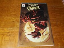 Web of Venom Cult of Carnage #1 Salvadore Larocco Exclusive Variant Cover nm!