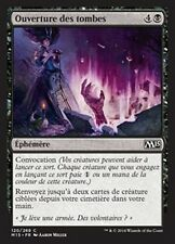 MTG Magic M15 FOIL - Unmake the Graves/Ouverture des tombes, French/VF
