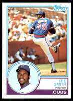 1983 Topps Set Break Lee Smith Chicago Cubs #699