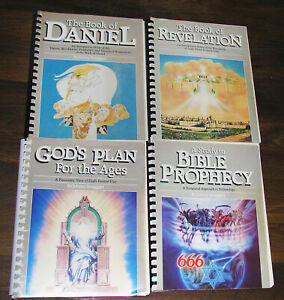Lot of 4 jimmy Swaggart Bible Topic Study Guides