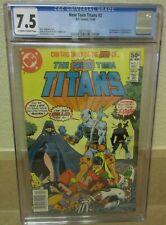 New Teen Titans #2 (1980) CGC 7.5 1st App Deathstroke the Terminator
