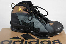 Adidas Men's Hiking Boots A3 Leather Green / Braun / Black 078433A3 New