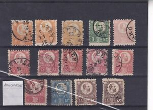 0484 Hungary Nice lot of older stamps see scan