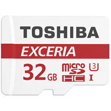 TOSHIBA exceria 32GB Micro SD SDHC Class 10 Memory card UP TP 90MB / S m. libero ADP