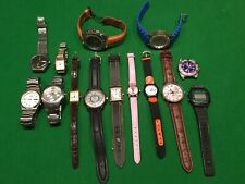 Job lot of watches , Spares or repair. Rado, Seiko , Accurist , Lorus, Adidas