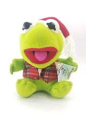 "McDonald's Jim Hensons Baby Kermit Frog 9"" Plush Tags Still In Package 1987 1988"