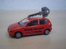 """Herpa - VW Polo III ( 6N ) """"Schlüsseldienst"""" rot / red - Nr. 043953 - 1:87"""