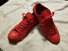 Converse Chuck Taylor Red Monochrome Mens 12 New