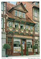 38855 Wernigerode  Konditorei und Café Hauer um 1940