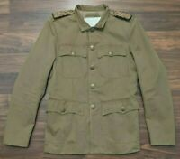 Denim & Supply Ralph Lauren Womens Jacket Military Metal Buttons Size Small