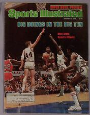 1979 SPORTS ILLUSTRATED OHIO STATE Vs ILLINOIS BASKETBALL