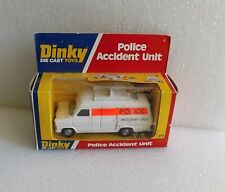 NIB NEW IN BOX 1976 DINKY MECCANO POLICE ACCIDENT UNIT NO. 272 DIECAST ENGLAND