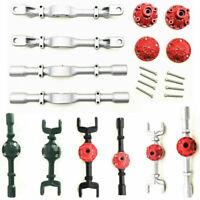 Upgrade Metall Vorne & Hinten Axle Housing Kit für 1:16 WPL B14 B16 B36 C24 C14
