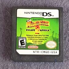 NINTENDO DS GAME MADAGASCAR ESCAPE 2 AFRICA Game Only Tested