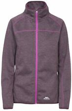 Trespass Womens Tenbury Fleece Full Zip Up Knitted Long Sleeved Top Jumper