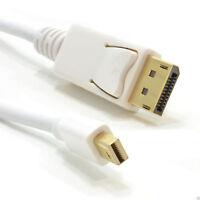 Mini DisplayPort Male Plug to Display Port Plug 1m