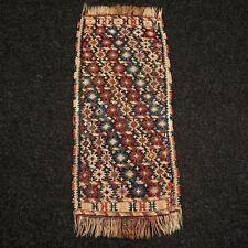 Antiker Kaukasus Kelim 80 x 34 cm Handgewebt Kazak Kilim Antique Old Gelim Rug