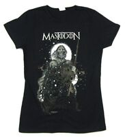 Mastodon White Walker Girls Juniors Black T Shirt New Official Band Merch