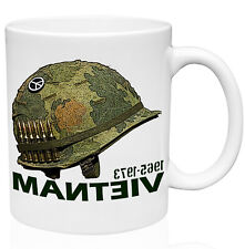 VIETNAM WAR HELMET 11oz Ceramic High Quality Coffee Mug