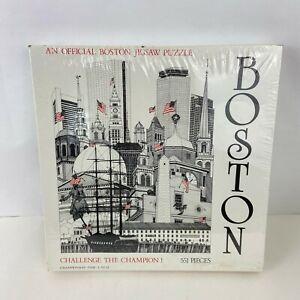 BOSTON  551 Pc CHALLENGE CHAMPION! Official Boston Jigsaw Puzzle NEW Sealed