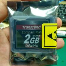2PCS Transcend 2GB Ultra speed CF card Industrial Compact Flash Card