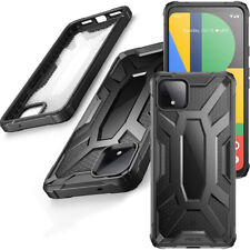 Poetic[Affinity]For Google Pixel 4 CaseClearBumperShockproofCover Black